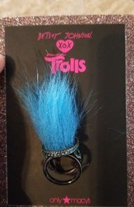 New! Betsy Johnson Trolls collectible Ring